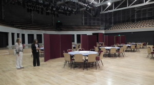 Butterworth Hall Conference room - tiered for 1200